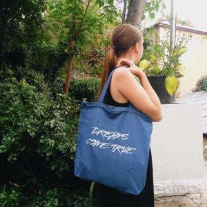 """Робота Дизайнерська сумка-шопер """"dreams"""""""