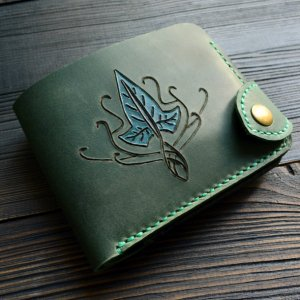 Робота Портмоне з ельфійським плющем