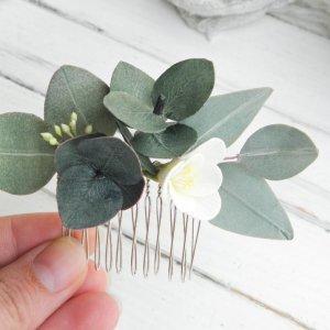 Робота Ніжний маленький гребінь для волосся з евкаліптом і фрезією