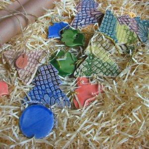 Робота Керамічні ялинкові прикраси для декору #9