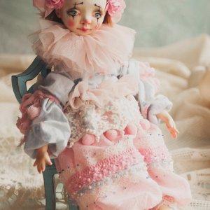"""Робота Авторська лялька """"П'єро"""""""