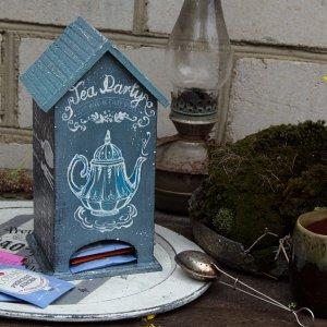 Робота чайный домик лофт серый