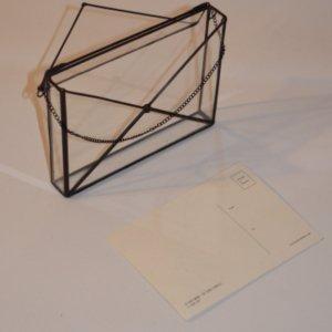 Робота Скляний конверт для листівок або фото