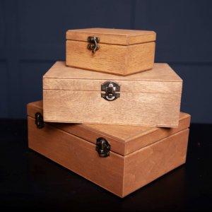 Работа Деревянная подарочная упаковка для подарков