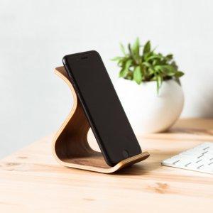 Робота Дерев'яна підставка для телефону Phone Stand •Sign• Walnut