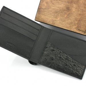 Робота Чоловічий шкіряний гаманець, гаманець з гравіюванням
