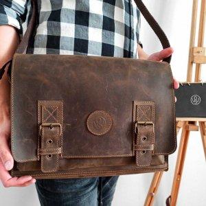 Робота Шкіряна сумка SM-0011