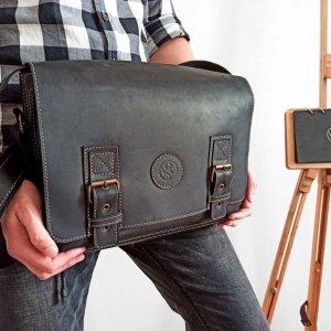Робота Шкіряна сумка SM-0012