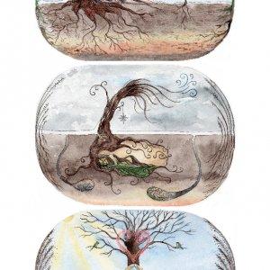 "Робота Настінний календар ""Mother Nature"""