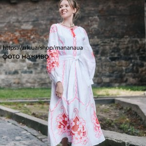 Робота Вишита жіноча сукня в техніці рішельє весільне вбрання