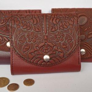 Робота Шкіряні жіночі гаманці коричневі