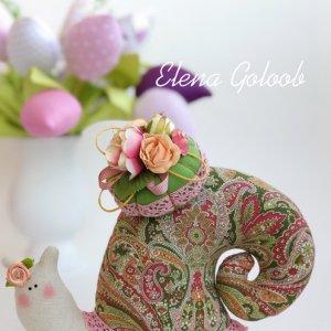 Равлик Тільда Розово-салатовий