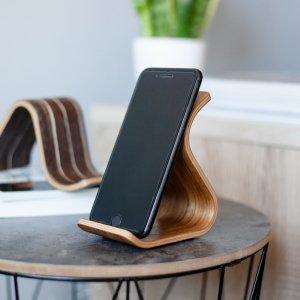 Робота Дерев'яна  підставка для телефону •Sign•Daniellia