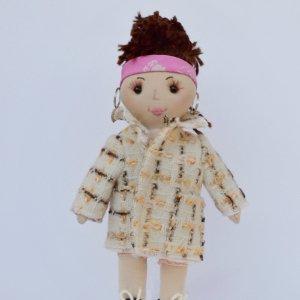 Робота Лялька ручної роботи з модними одягом, подарунок дівчинці