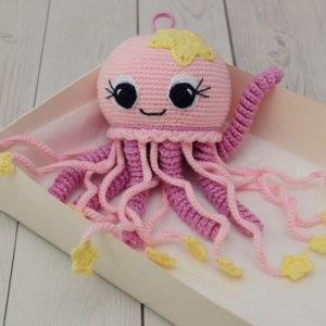 Робота Рожева восьминіжка-  подарунок для дитини