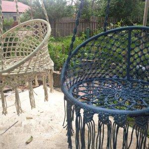 Робота Плетене крісло макраме