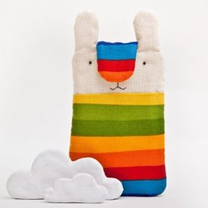 Робота Чехол для телефона зайчик радуга