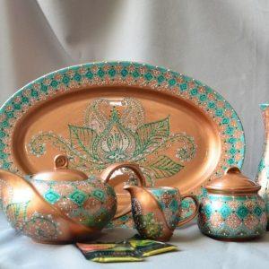 Робота Чайный сервиз «Роспись в турецком стиле»