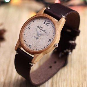 Робота Годинник з дерева, жіночий, бук, 01A3530BB