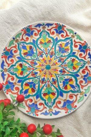 Интерьерная тарелка ''Летняя''