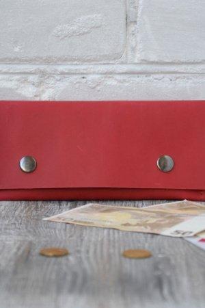 Жіночій гаманець з натуральної шкіри Crazy horse wa_018_red