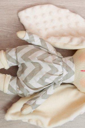 Текстильний зайчик